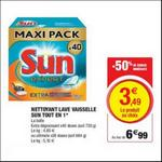 Bon Plan Tablettes Sun chez Magasins U - anti-crise.fr