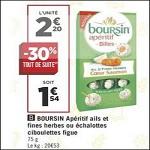 Bon Plan Billes Boursin Apéritif chez Géant Casino - anti-crise.fr