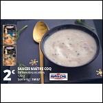 Bon Plan Sauce Festive Maître Coq chez Auchan - anti-crise.fr