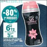 Bon Plan Parfum de Linge Lenor Unstoppables chez Carrefour Market - anti-crise.Fr