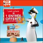 Bon Plan Kinder : 1 Pack Acheté = 1 Entrée dans un Parc Animalier - anti-crise.fr