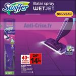 Bon Plan Balai Spray Swiffer Wetjet chez Auchan - anti-crise.fr