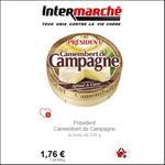 Bon Plan Camembert de Campagne Président - anti-crise.fr