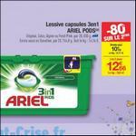 Bon Plan Lessive Ariel Pods chez Carrefour - anti-crise.fr