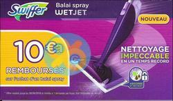 Bon Plan Balai Spray Swiffer Wetjet Chez Auchan 0701 1302