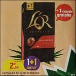 Bon Plan Capsules L'Or Espresso chez Intermarché - anti-crise.fr