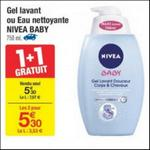 Bon Plan Gel Lavant Nivéa Baby chez Carrefour - anti-crise.fr