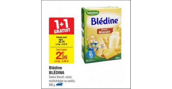 Bon Plan Blédine de Blédina chez Carrefour - anti-crise.fr