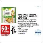Bon Plan Mes Astuces Légumes Bonduelle chez Auchan - anti-crise.fr