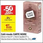 Bon Plan Café Sélection et Arômes Carte Noire chez Carrefour (30/01 - 11/02) - anti-crise.fr