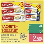 Bon Plan Dentifrice Colgate chez Match - anti-crise.fr