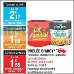 Bon Plan Poêlées D'Aucy chez Carrefour Market (06/02 - 18/02) - anti-crise.fr