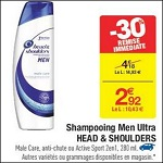 Bon Plan Shampoing Head & Shoulders Men chez Carrefour (06/02 - 12/02) - anti-crise.fr