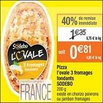 Bon Plan Pizza Sodebo l'Ovale chez Cora - anti-crise.Fr