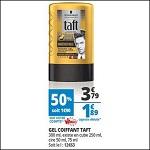 Bon Plan Gel Coiffant Taft chez Auchan - anti-crise.fr