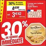 Bon Plan Fromage à Tartiflette RichesMonts chez Cora - anti-crise.fr