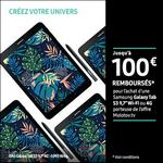 Offre de Remboursement Samsung : Jusqu'à 100€ remboursés sur Tablette Galaxy Tab S3 - anti-crise.fr