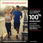 Offre de Remboursement Samsung : Gear Fit2 Pro 100% remboursé sur Gear Sport + d'un Gear Fit2 Pro - anti-crise.fr