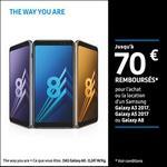 Offre de Remboursement Samsung : Jusqu'à 70€ remboursés Smartphone Galaxy A3 2017, Galaxy A5 2017 ou Galaxy A8 - anti-crise.fr