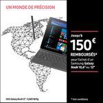 Offre de Remboursement Samsung : Jusqu'à 150€ Remboursés sur Galaxy Book - anti-crise.fr