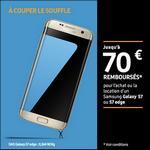 Offre de Remboursement Samsung : Jusqu'à 70€ Remboursés sur Galaxy S7 ou S7 edge - anti-crise.fr