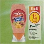 Sauce Amora chez Magasins U (27/02 - 03/03) - anti-crise.fr