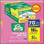 Bon Plan Lessive Ariel Pods chez Carrefour (27/02 - 05/03) - anti-crise.fr