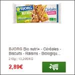 Bon Plan Biscuits Bjorg Nutri+ chez Géant Casino (04/02) - anti-crise.fr