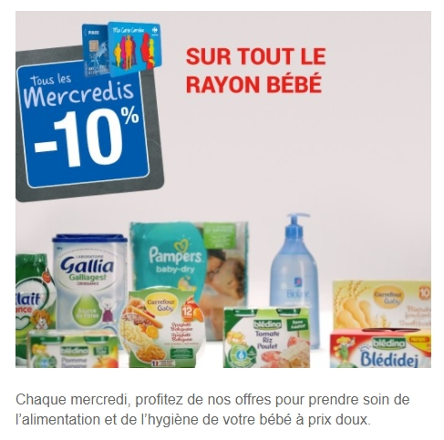 Bon Plan Couches Pampers Baby Dry Chez Carrefour Market 27 02 11 03
