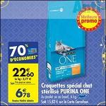 Bon Plan Croquettes pour Chat Purina One chez Carrefour (27/02 - 05/03) - anti-crise.fr