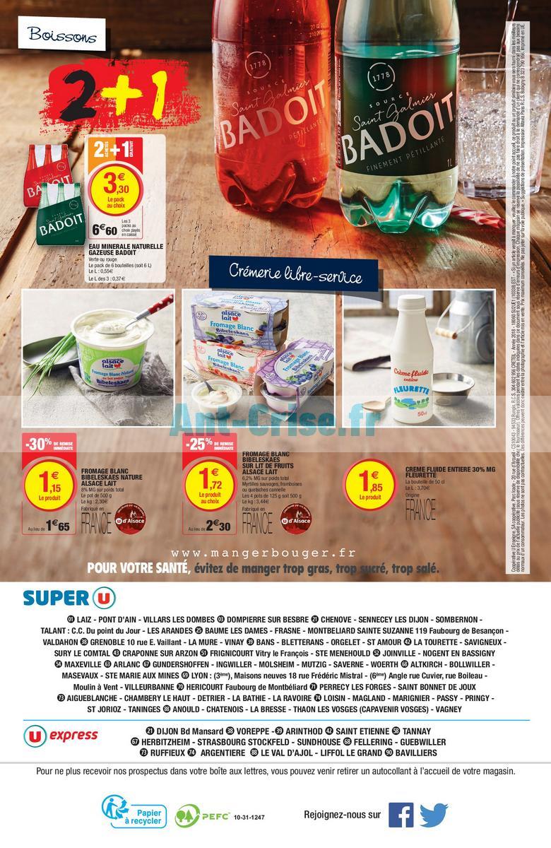 fevrier 2018 Catalogue Super U du 20 au 24 février 2018 (Est) (16)