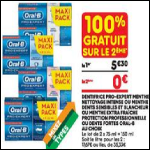 Bon Plan Dentifrice Oral-B chez Leader Price (27/02 - 11/03) - anti-crise.fr