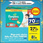 Bon Plan Couches Pampers Baby Dry Pants chez Carrefour (27/02 - 05/03) - anti-crise.fr