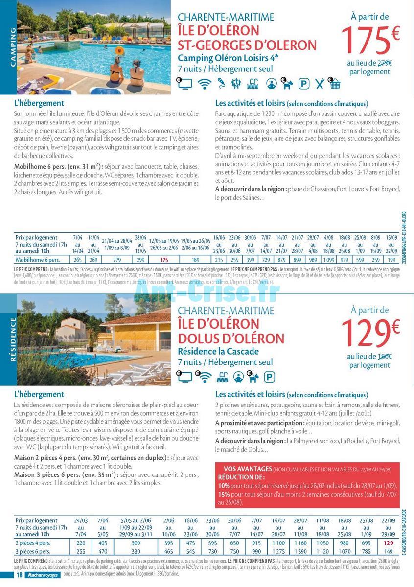 septembre2018 Catalogue Auchan du 21 mars au 21 septembres 2018 (Voyages) (18)