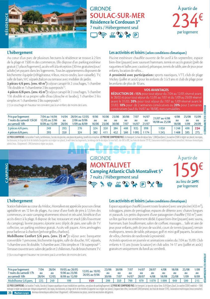 septembre2018 Catalogue Auchan du 21 mars au 21 septembres 2018 (Voyages) (20)