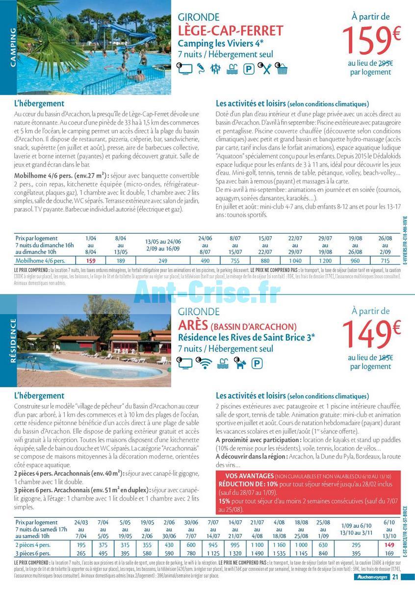 septembre2018 Catalogue Auchan du 21 mars au 21 septembres 2018 (Voyages) (21)