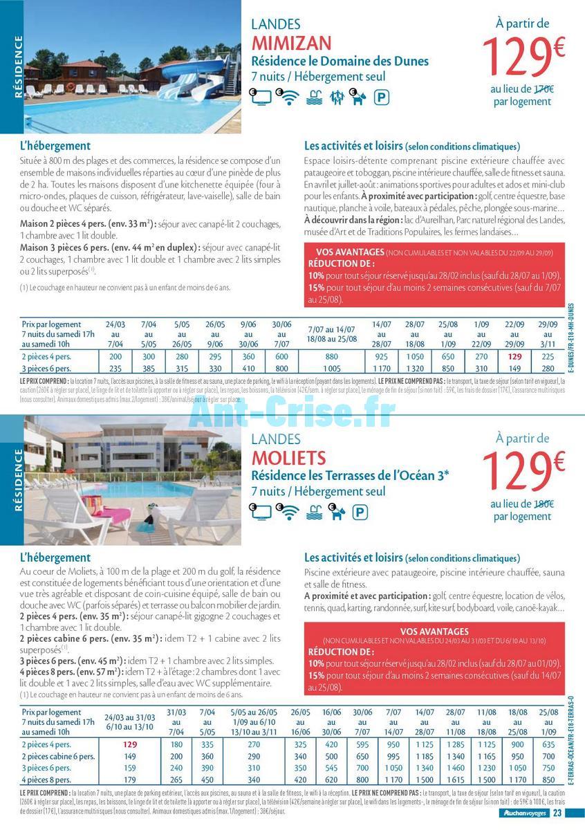 septembre2018 Catalogue Auchan du 21 mars au 21 septembres 2018 (Voyages) (23)