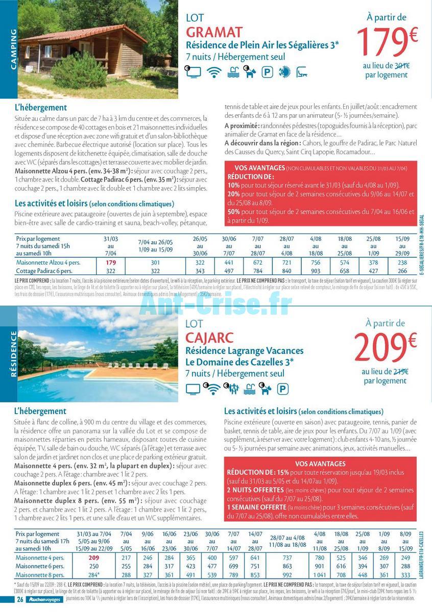 septembre2018 Catalogue Auchan du 21 mars au 21 septembres 2018 (Voyages) (26)