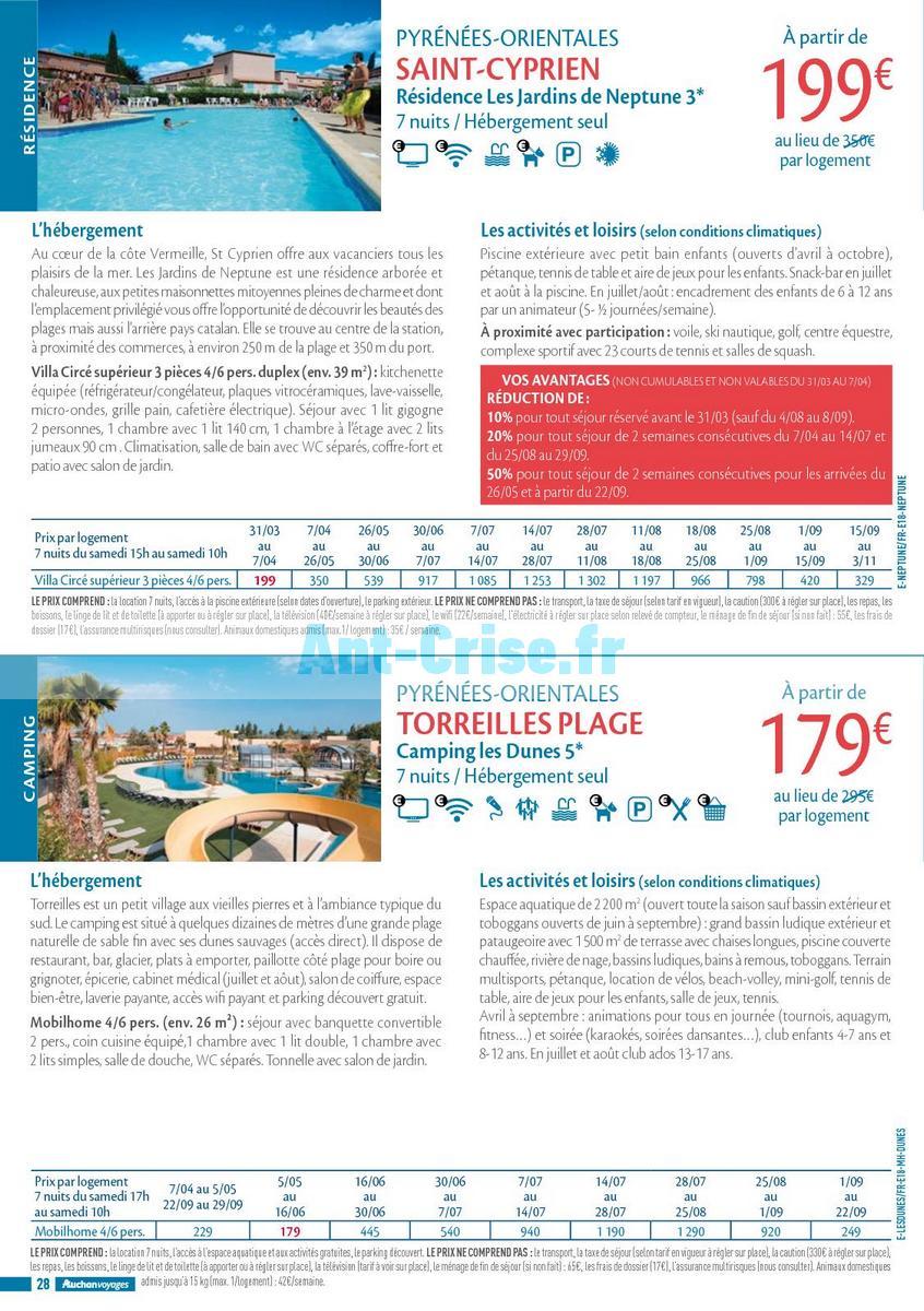 septembre2018 Catalogue Auchan du 21 mars au 21 septembres 2018 (Voyages) (28)