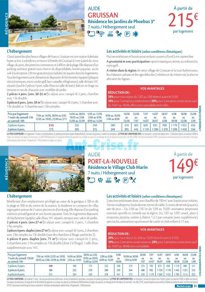 septembre2018 Catalogue Auchan du 21 mars au 21 septembres 2018 (Voyages) (31)