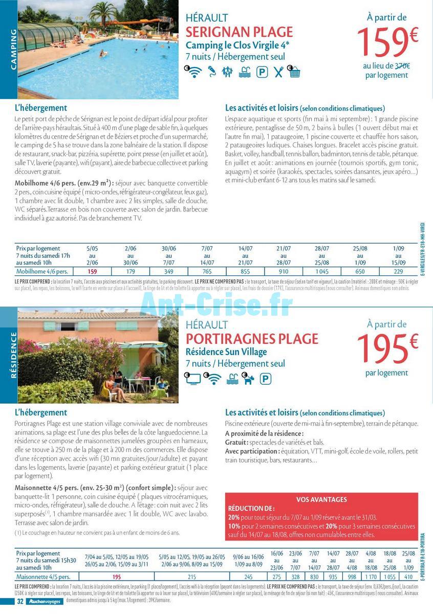 septembre2018 Catalogue Auchan du 21 mars au 21 septembres 2018 (Voyages) (32)