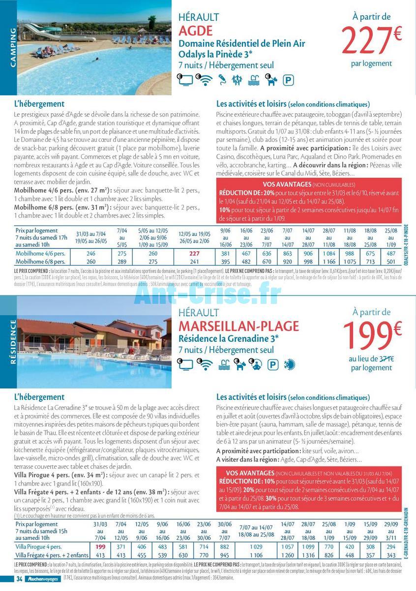 septembre2018 Catalogue Auchan du 21 mars au 21 septembres 2018 (Voyages) (34)