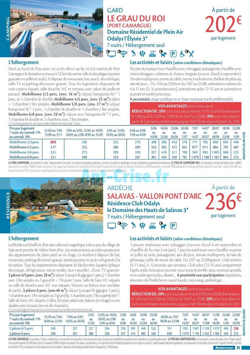 septembre2018 Catalogue Auchan du 21 mars au 21 septembres 2018 (Voyages) (35)