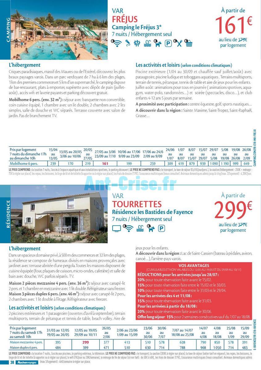 septembre2018 Catalogue Auchan du 21 mars au 21 septembres 2018 (Voyages) (38)