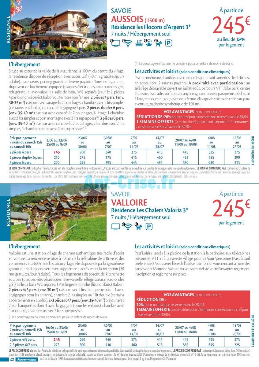 septembre2018 Catalogue Auchan du 21 mars au 21 septembres 2018 (Voyages) (42)