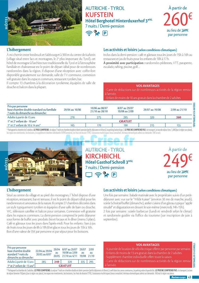 septembre2018 Catalogue Auchan du 21 mars au 21 septembres 2018 (Voyages) (43)