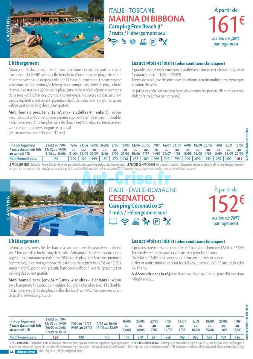 septembre2018 Catalogue Auchan du 21 mars au 21 septembres 2018 (Voyages) (44)