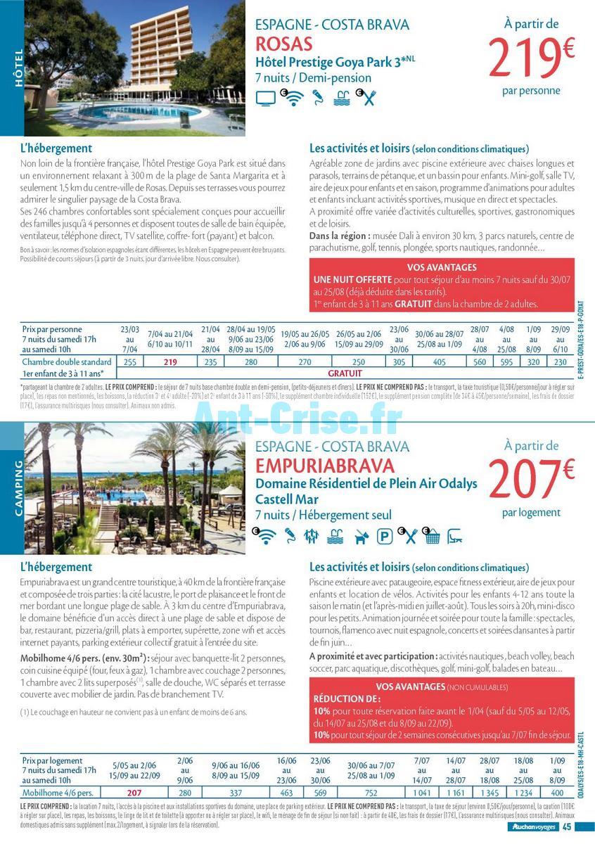 septembre2018 Catalogue Auchan du 21 mars au 21 septembres 2018 (Voyages) (45)