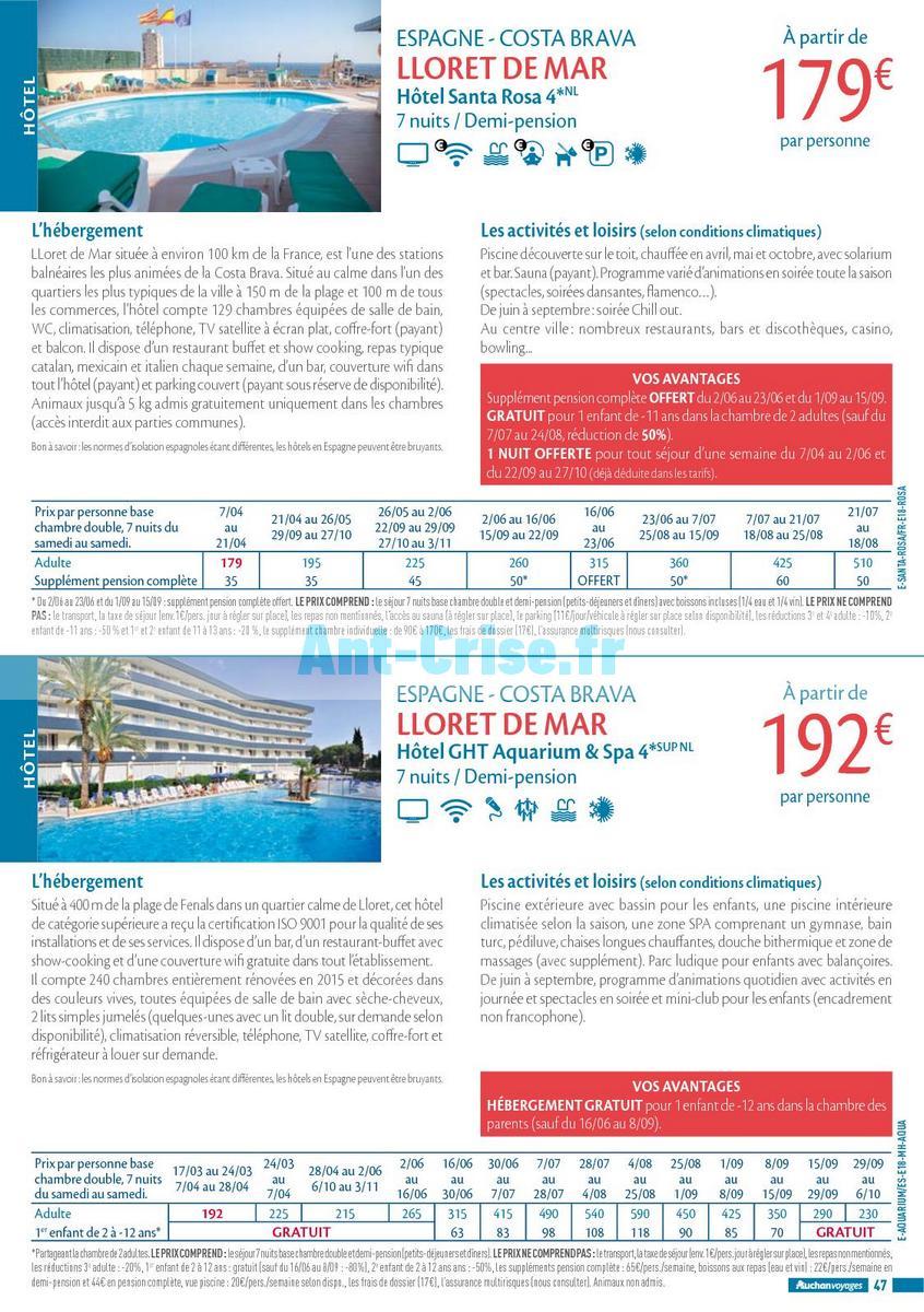 septembre2018 Catalogue Auchan du 21 mars au 21 septembres 2018 (Voyages) (47)