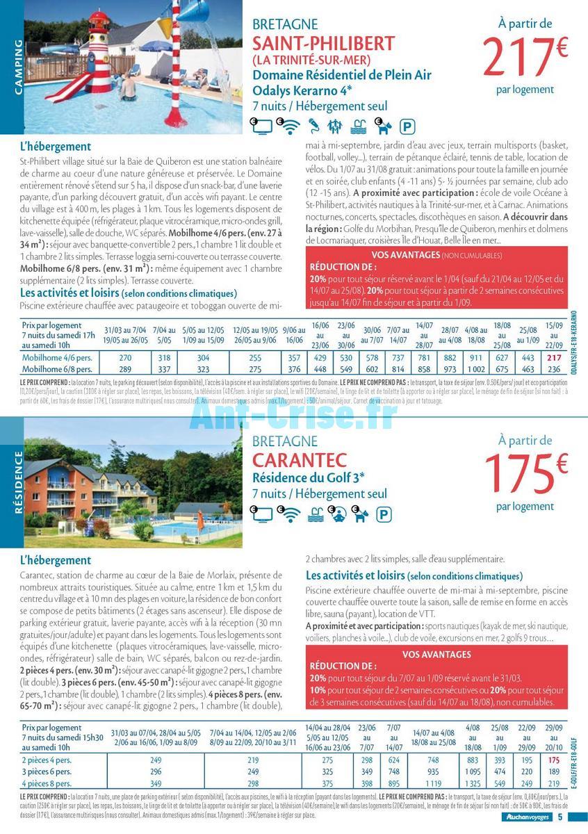 septembre2018 Catalogue Auchan du 21 mars au 21 septembres 2018 (Voyages) (5)